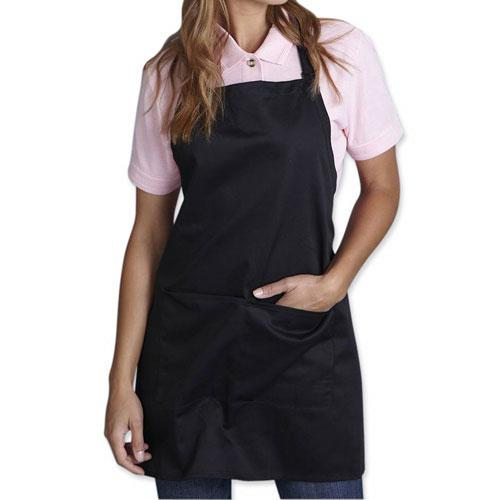 Promotional Full Length Apron W/ Pouch Pocket