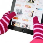 Promotional Winter Warming Knitted Touch Screen Gloves