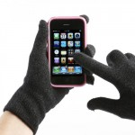 Winter Warming Knitted Touch Screen Gloves