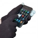 Logo Printed Touch Screen Gloves