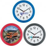 Given Away Promotional Wall Clock Customized Logo Printing