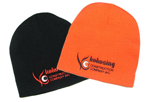 Promotional Customized Logo Printed Knitted Winter Beanie Hats Winter Beanie Hat