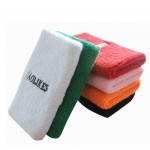 Sweat Band Wrist Cuff Protector Embroidery Logo S