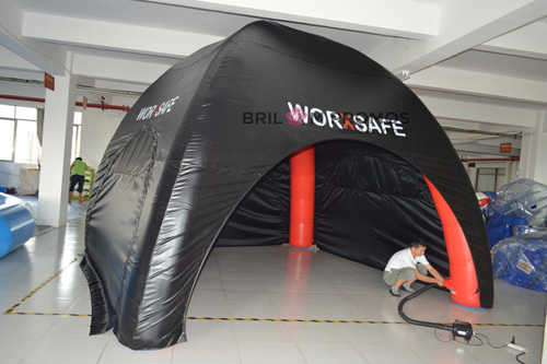 Logo Printed PVC Inflatable Tent
