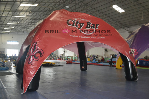 logo printed advertising  inflatable tent